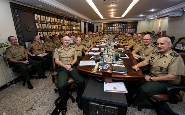 Planejamento das atividades do próximo ano é debatida durante a 316ª Reunião do Alto-Comando do Exército