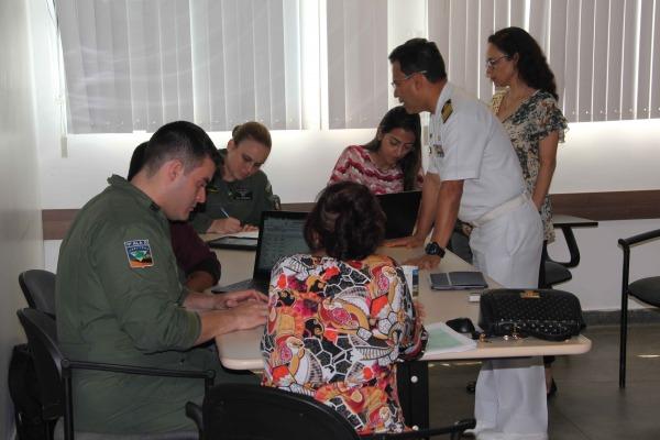 Força Aérea e Ministérios da Defesa e da Saúde planejam campanha de vacinação