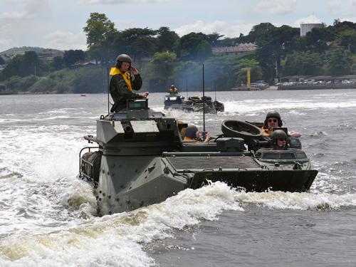 Cônsul-Geral do Brasil em Portugal visita a Tropa de Reforço