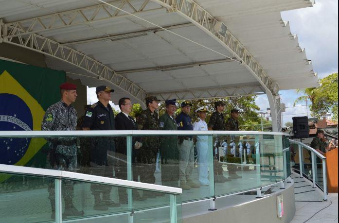 Cerimônia de encerramento da Operação GLO em Natal (RN)