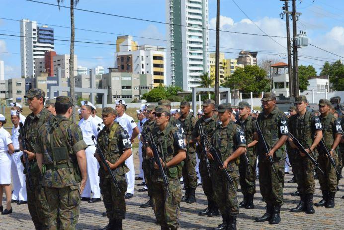 75 militares da FAB participaram da GLO