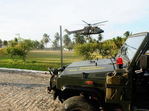 """Marinha do Brasil encerra participação na Operação """"Potiguar III"""" no Rio Grande do Norte"""