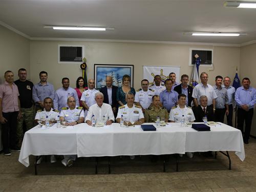 Comando do 8º Distrito Naval apoia a criação da SOAMAR 7 Quedas