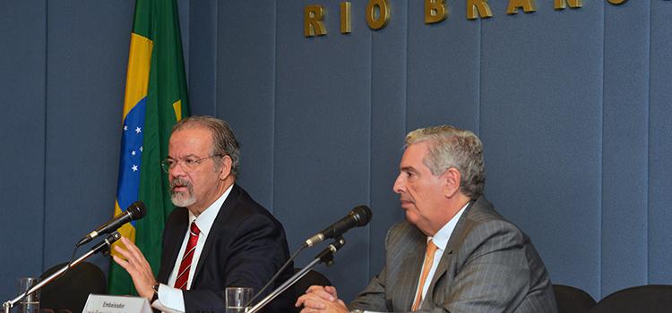 Aula Magna do Ministro Jungmann no curso Defesa e Diplomacia do Instituto Rio Branco