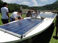 barco marinha solar