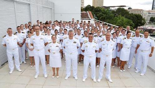 DSM realiza cerimônia de troca de platinas de oficiais do Corpo de Saúde da Marinha