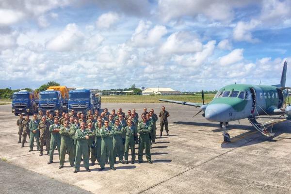 Esquadrão Falcão e 2º ETA passam a operar a partir de Natal (RN)