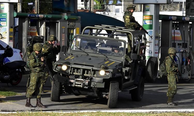 Forças Armadas restauram a ordem e a segurança na região metropolitana de Natal (RN)