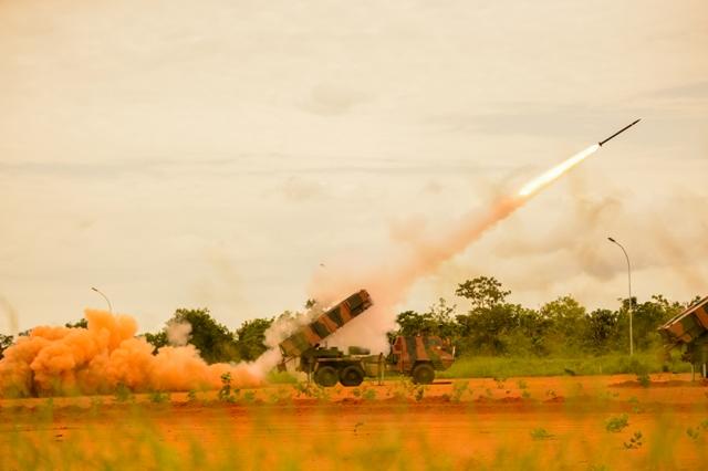 Exército Brasileiro inaugura Centro de Instrução de Artilharia de Mísseis e Foguetes