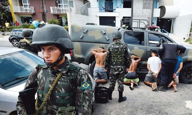 Polícia do Exército atua no Rio Grande do Norte, em face à paralisação das Polícias Civil e Militar