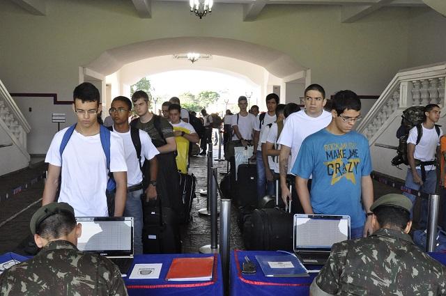 Segunda etapa do Concurso de Admissão para a Escola Preparatória de Cadetes tem início em Campinas