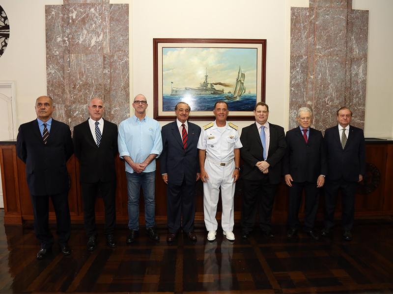 Cerimônia de implantação da Liga da Reserva Naval do Brasil é realizada no Rio de Janeiro (RJ)