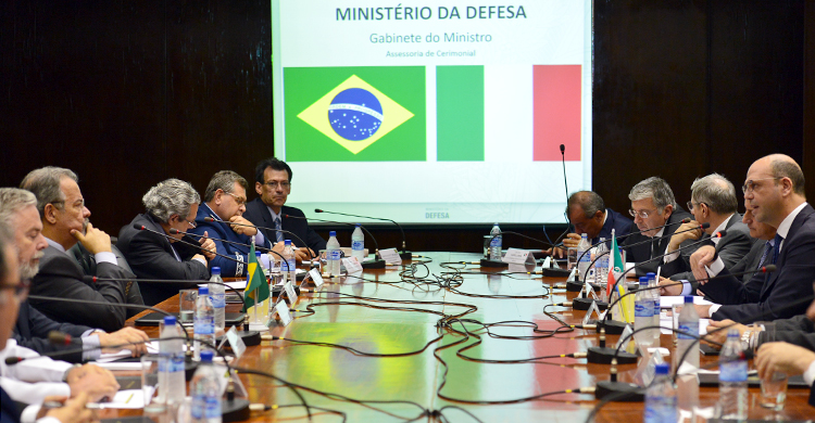 Jungmann e Chanceler italiano discutem homenagem aos combatentes da FEB