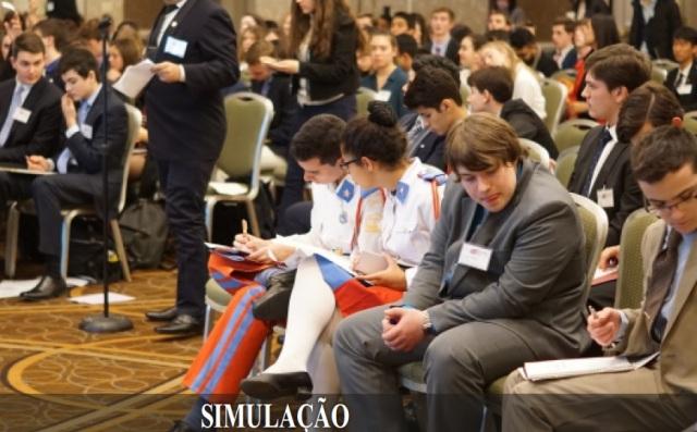 Alunos de Colégios Militares de todo o Brasil têm extraordinária experiência em simulação da ONU em Harvard