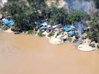 garimpo ilegal encontrado na Selva 1
