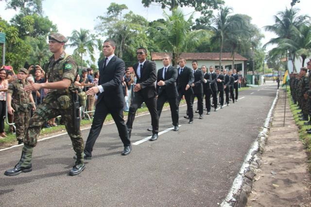 Cerca de 100 jovens concretizam o sonho de fazer parte do Exército Brasileiro em NPOR no Norte do País
