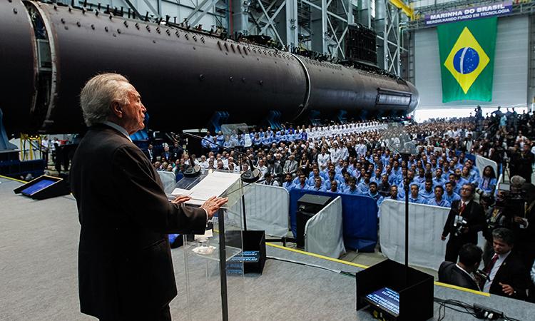 Marinha inicia a fase de integração dos submarinos da Classe Riachuelo