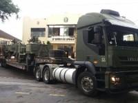 transporte armamento eb