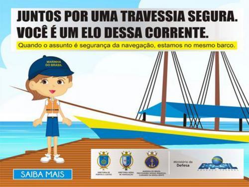 Marinha do Brasil divulga balanço nacional da Campanha Travessia Segura