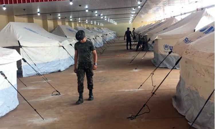 Governo Federal e ACNUR disponibilizam novo abrigo para venezuelanos em Boa Vista