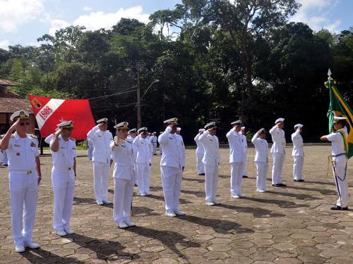 2ºBtlOpRib realiza cerimônia em comemoração ao 210º aniversário do Corpo de Fuzileiros Navais