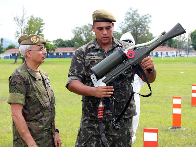 Visita de Comitiva do Exército Espanhol e COTER ao 1º Btl DQBRN