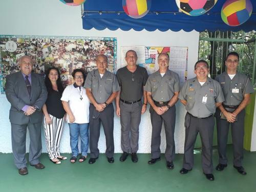 Diretor-Geral do Pessoal da Marinha visita instalações e projetos do Abrigo do Marinheiro