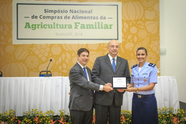 Unidade da FAB é destaque na compra de alimentos da Agricultura Familiar