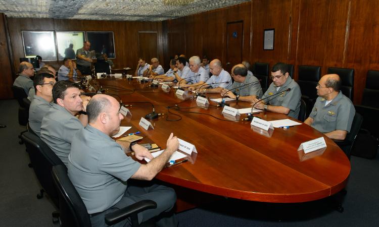 EMCFA promove Estágio de Adaptação Funcional para oficiais generais recém-promovidos