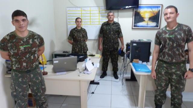 Visita de auditoria ao Centro de Embarcações do Comando Militar da Amazônia