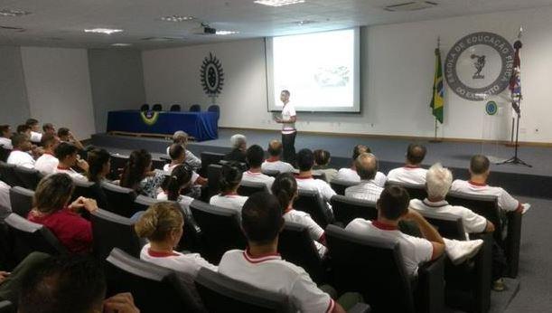 Aula Inaugural do Curso de Instrutor e Monitor de Educação Física