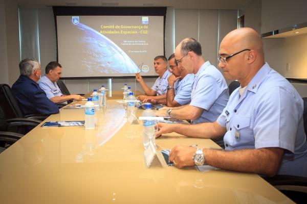 FAB realiza a primeira reunião do Comitê de Governança de Atividades Espaciais (CGE)