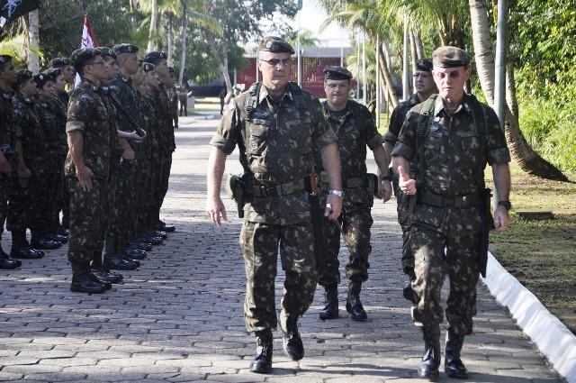 Visita do novo Comandante Militar da Amazônia