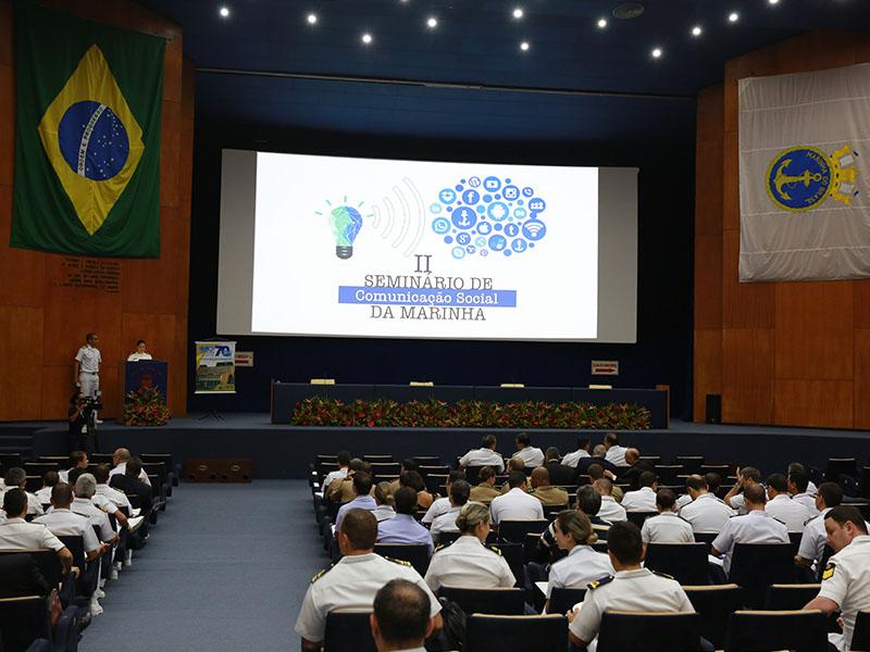 Centro de Comunicação Social da Marinha realiza seminário no Rio de Janeiro (RJ)