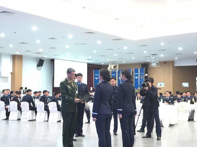 Cerimônia na Academia da Força Aérea Coreana