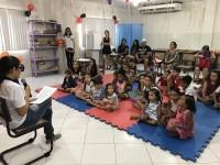 Crianças participantes do evento