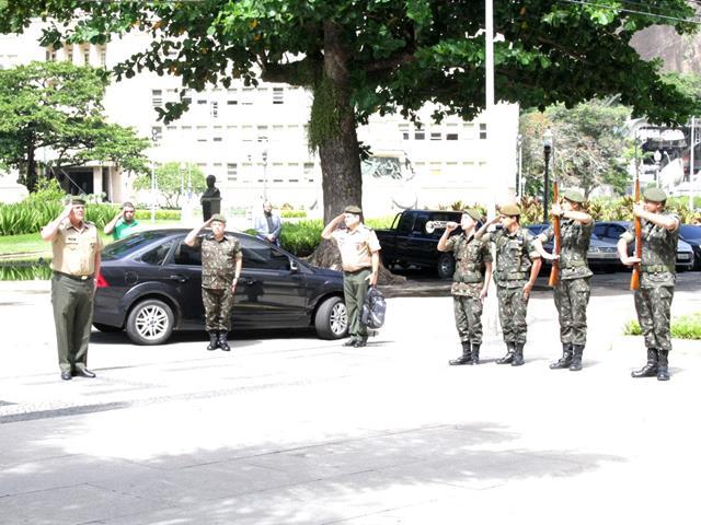 Despedida do General Campos na ECEME