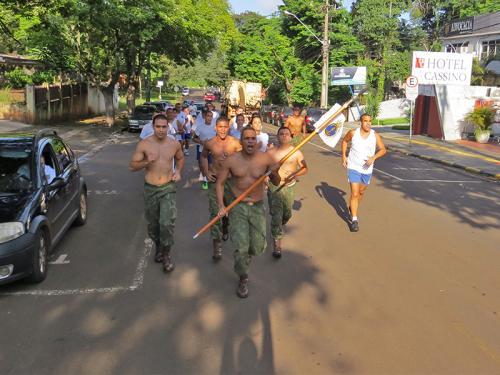 """Comando do 8º Distrito Naval celebra o """"Dia do Corpo de Fuzileiros Navais"""""""