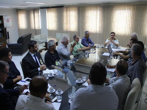 Capitania dos Portos de São Paulo coordena reunião sobre dragagem do Porto de Santos