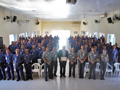 Escola de Aprendizes-Marinheiros do Ceará recebe ciclo de palestras do Ministério Público Militar