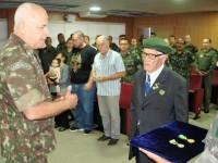 ex combatente 85 anos