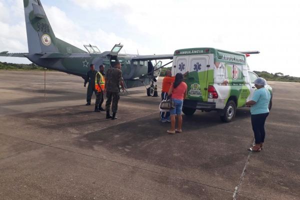 FAB realiza Evacuação Aeromédica de gestante no Maranhão