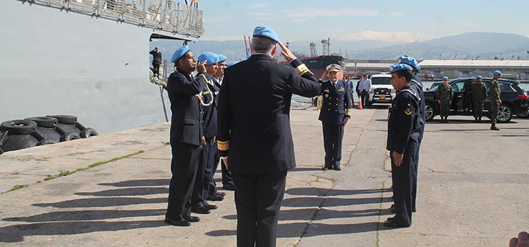 Força-Tarefa Marítima da UNIFIL tem novo Comandante