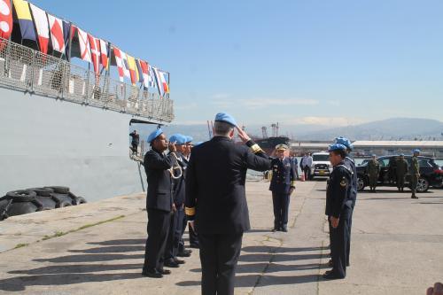 Comandante de Operações Navais participa de eventos da FTM-UNIFIL