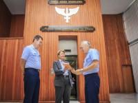 Senadora Ana Amélia Lemos em visita ao Comandante da Aeronáutica