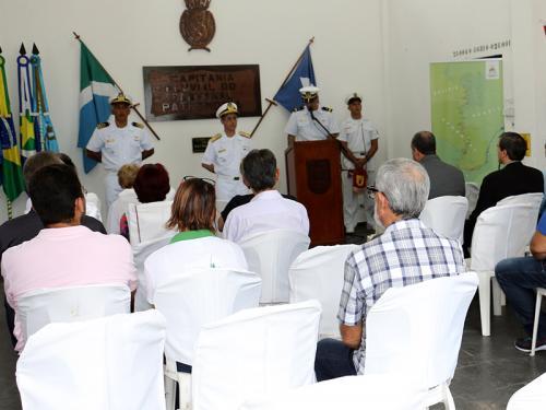 Comando do 6º Distrito Naval realiza cerimônia alusiva ao 70º aniversário da IMO