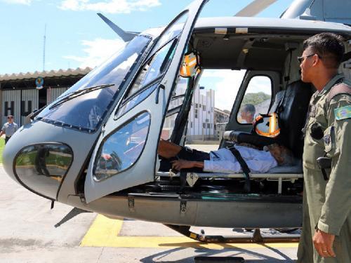 Marinha resgata senhor de 85 anos em Porto Índio