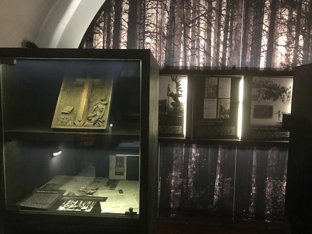 Visita ao Comando das Forças de Defesa Territorial e ao Museu Katynskie
