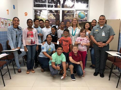 """VCB iniciam atividades do """"Projeto Valores e Virtudes"""" em Manaus (AM)"""