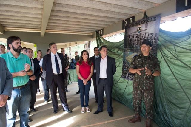 Exército Brasileiro estreita relacionamento com representantes do Executivo, Legislativo e Judiciário